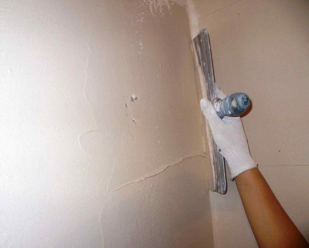 выравнивание стен после оштукатуривания2