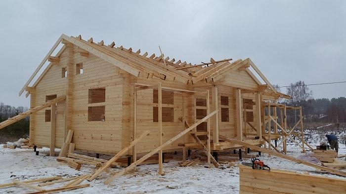 Строительство домов бруса плюсы минусы